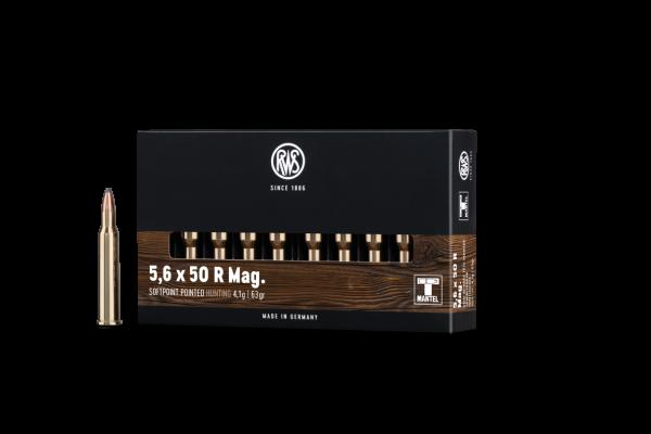 RWS 5,6X50 R MAG TM 4,1G 20ER