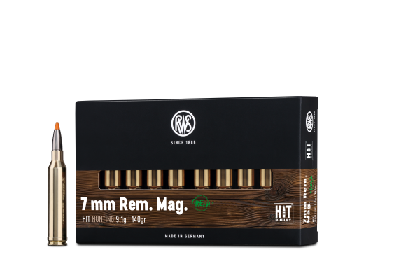RWS 7MM REM MAG HIT 9,1G 140GR 20ER