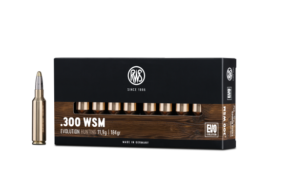 RWS .300 WSM EVO 11,9G 184GR 20ER