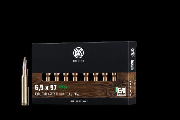 RWS 6,5X57 EVO GREEN 6,0G 20ER