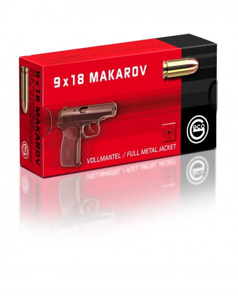 GECO 9MM MAKAROV VM 6,15G 50ER