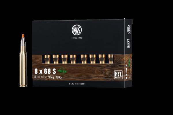 RWS 8X68 S HIT 10,4G 20ER