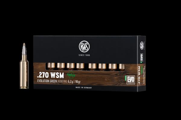 RWS .270 WSM EVO GREEN 6,2G 96GR 20ER