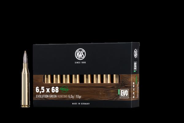 RWS 6,5X68 EVO GREEN 6,0G 20ER
