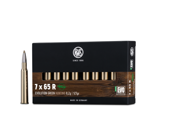 RWS 7X65 R EVO GREEN 8,2G 127GR 20ER