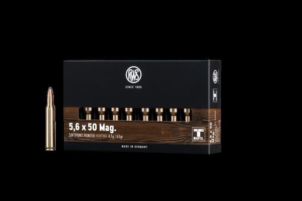 RWS 5,6X50 MAG TM 4,1G 20ER