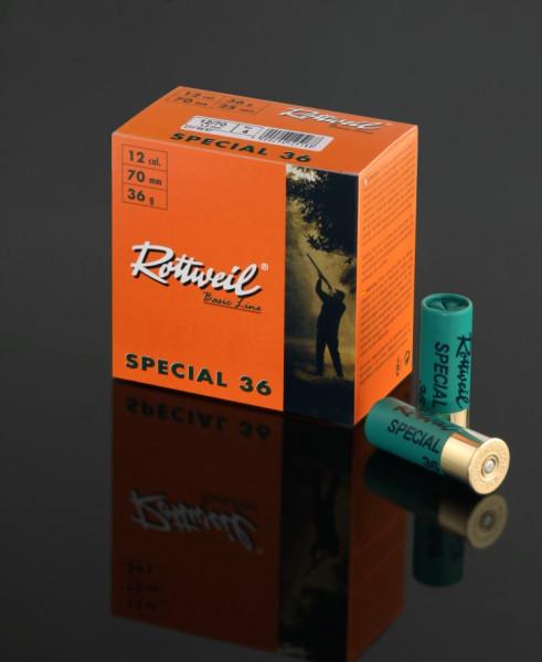 Rottweil SPEC 12/70 36G 3,7MM 25ER