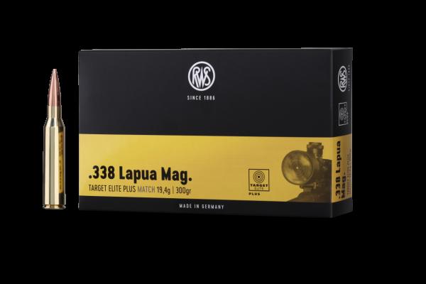 RWS .338 LM TARG ELIT PLUS 19,4G 20ER