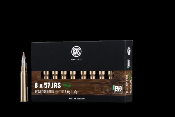 RWS 8X57 JRS EVO GREEN 9,0G 139GR 20ER