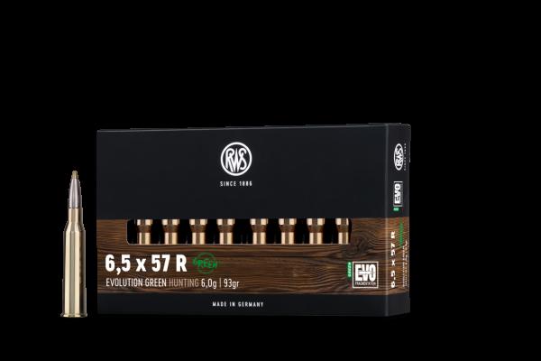 RWS 6,5X57 R EVO GREEN 6,0G 20ER