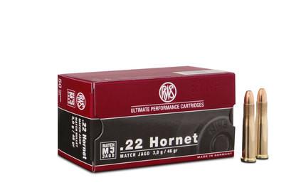 RWS .22 HORNET MJ 3,0G 50ER