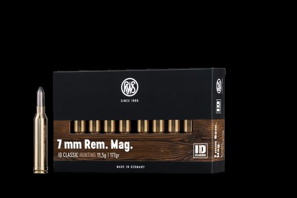 RWS 7MM REM MAG ID 11,5G 20ER