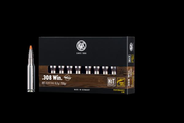 RWS .308 WIN RWS HIT 9,7G SRF 20ER