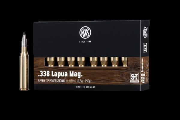 RWS .338 LM S-TIP PRO 16,2G 250GR 20ER