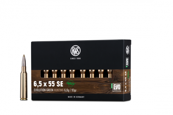 RWS 6,5X55 EVO GREEN 6,0G 20ER