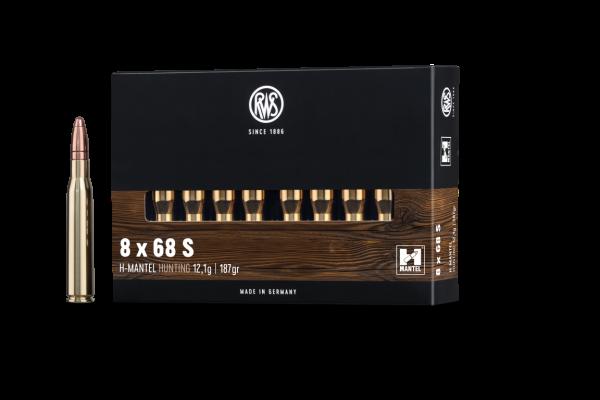 RWS 8X68 S HMK 12,1G 20ER